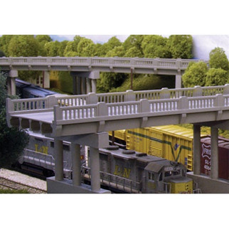628-0101  Rix Products HO 50' Early Highway Overpass