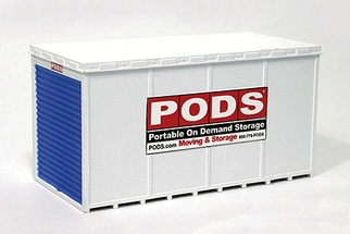 615 N Scale BLMA PODs Moving and Storage Container (2) Assembled