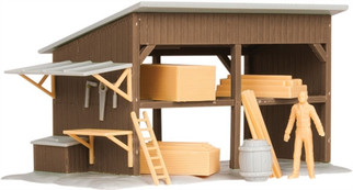 6-81629 O Scale Lionel Lumber Shed Kit