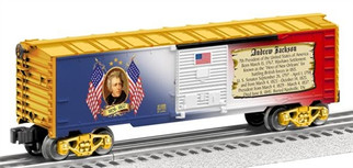 6-81488 O Lionel Andrew Jackson Boxcar