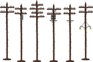 6-49872 S Lionel S-Scale Telephone Poles