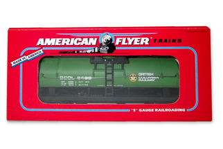 6-48403SD S American Flyer British Columbia Tank Car