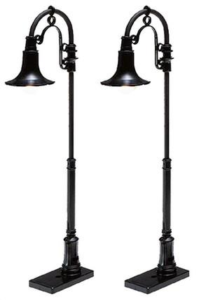 6-37172 O Lionel Gooseneck Lamp-2 Pack