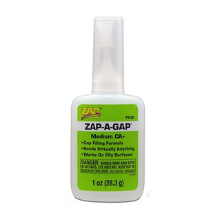 PT-02 Pacer Glue ZAP A Gap CA+ Glue, 1 oz