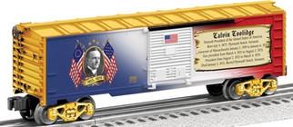 6-25932 O Lionel Calvin Coolidge  Box Car