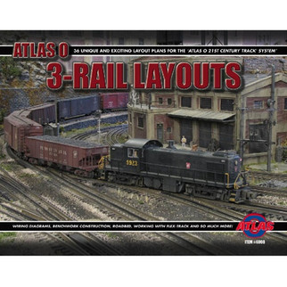 6008 Atlas O Thirty Six 3-Rail Layouts Book