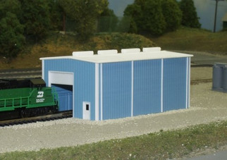 541-8002 N Scale Pikestuff Rix Products Small Enginehouse Kit