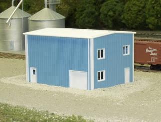 541-8001 N Scale Pikestuff Rix Products Modern Yard Office Kit