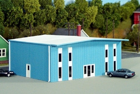 541-5002 HO Rix Products Pikestuff Kitbasher Series-Modern 2 Story Office Building Kit