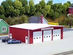 541-0192 HO Rix Products Pikestuff Fire Station Kit