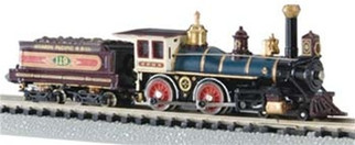 51151 Bachmann N  Scale 4-4-0 American UP #119