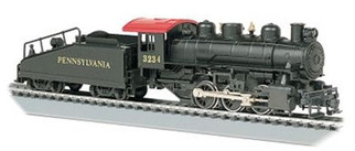 50615 HO Bachmann USRA 0-6-0 Locomotive w/Smoke & Slope Tender-Pennsylvania Railroad #3234