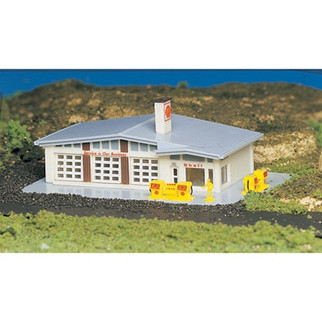 45904 Bachmann N Scale Built Up Shell Gas Station
