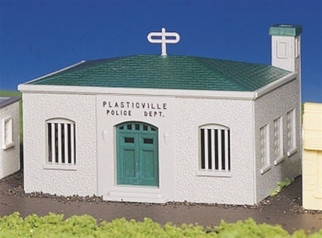 45145 Bachmann HO Scale/Plasticville?? U.S.A./Kits Police Station