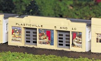 45142 Bachmann HO Scale Plasticville?? U.S.A. Kit 5 & 10 Store