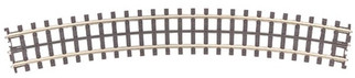 45-1034 MTH O ScaleTraxT  O-80 Curved Track Section