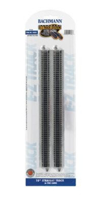 44815 Bachmann N Scale E Z Track 10 Straight 6 Card T And K Hobby