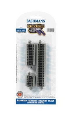 44829 Bachmann N Scale Nickel Silver EZ Straight Assorted