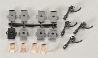 5 Kadee HO Scale #5 Metal Couplers