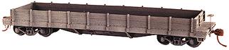 4040 HO Tichy Train Group Atlantic Coastline Style Flat Car-Undecorated w/Optional Wood Gondola Sides (Plastic Kit)