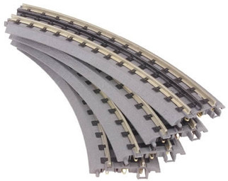 40-1002-4 O MTH Real-Trax(R) 4-Piece O-31 Curved Track