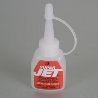 JET767 Jet Glue, Super Jet Glue, 1/2 oz