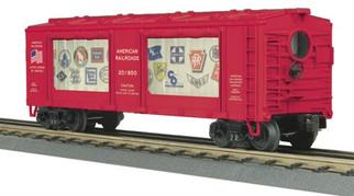 30-79318 O MTH RailKing American Railroads Operating Action Car