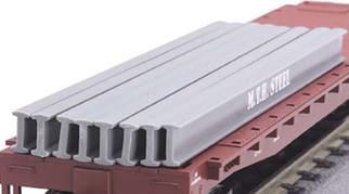 30-50007 MTH RailKing O I-Beam Load (8 pcs)