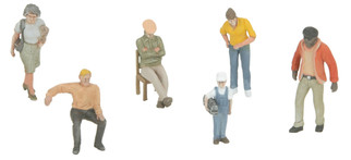 30-11072 MTH O 6-Piece Figure Set #11 Assortment #2
