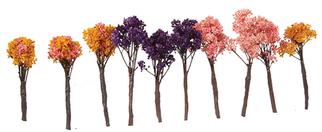 295-T40 Grand Central Gems 10 Small Jacaranda Blossom Trees