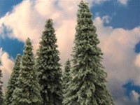295-T12 Grand Central Gems X-Large Spruce Trees (3)