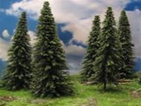 "295-T1Grand Central Gems inc. Pine Trees Medium, 5"" Tall pkg(20)"