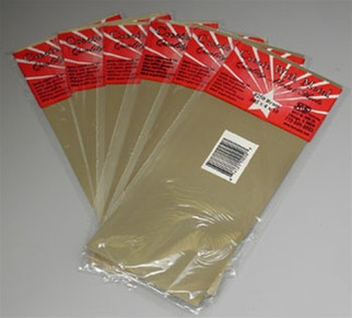 "250 K&S Engineering Brass Sheet 4x10"" .005"" (1)"