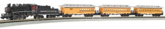 24020 N Bachmann Ready to Run Train Set-Durango & Silverton
