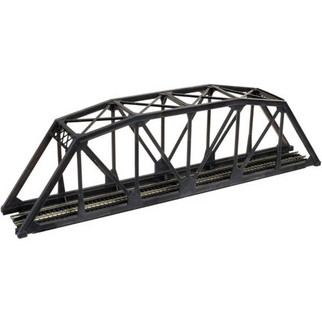 2070 N Scale Atlas Through Truss Bridge Kit-Code 55 (Black)