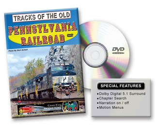 20109 Green Frog Tracks of the Old Pennsylvania Railroad DVD