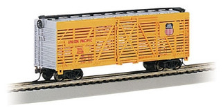 18501 HO Bachmann 40' Stock Car-Union Pacific(R)