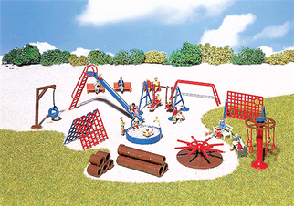 180576 HO Faller Playground Equipment