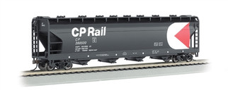 17529 HO Bachmann 56' ACFCenter-Flow Hopper-CP Rail