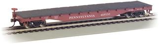 17314 HO Bachmann 52' Flat Car-Pennsylvania