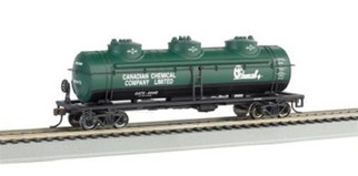 17143 Bachmann HO 40' Three-Dome Tank Car Chemcell