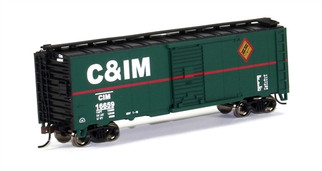 17025 HO Bachmann 40' Box Car-Chicago & Illinois Midland
