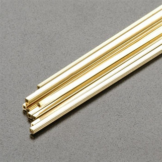 """1497 K&S Square Brass Tube 1/16"""" (2) REPLACES 149"""