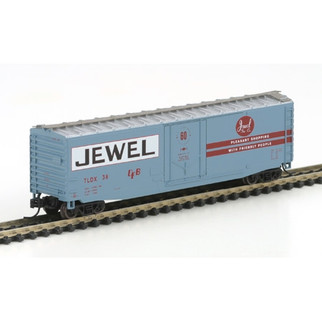 14176 N Scale Athearn RTR 50' PS-1 Box Car Plug Door Jewel-TDX #38