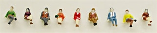 1336 N Scale Model Power Sitting People (9)