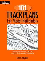 12012 Kalmbach 101 Track Plans Book for Model Railroaders