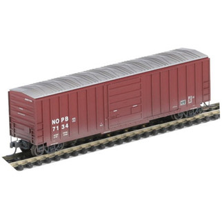 10256 Athearn N Scale RTR 50' SIECO Box/Weathered, New Orleans Public Belt #7134