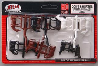 0778 Atlas HO Cows & Horses