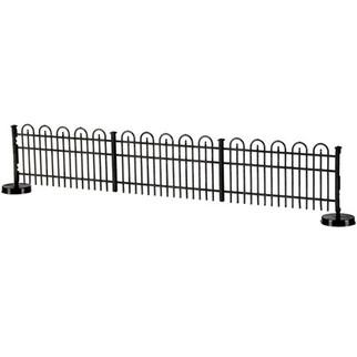 0774 Atlas HO Decorative Fence Hairpin Style