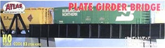 0592 Atlas HO Code 83 Plate Girder Bridge HO